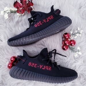 Adidas Yeezy Boost 350 V2 Core Black Red Bred Low
